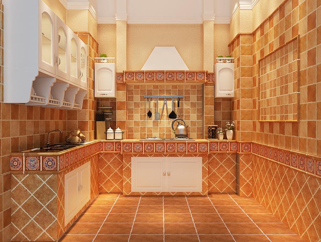 愛之屋廚房裝修效果圖