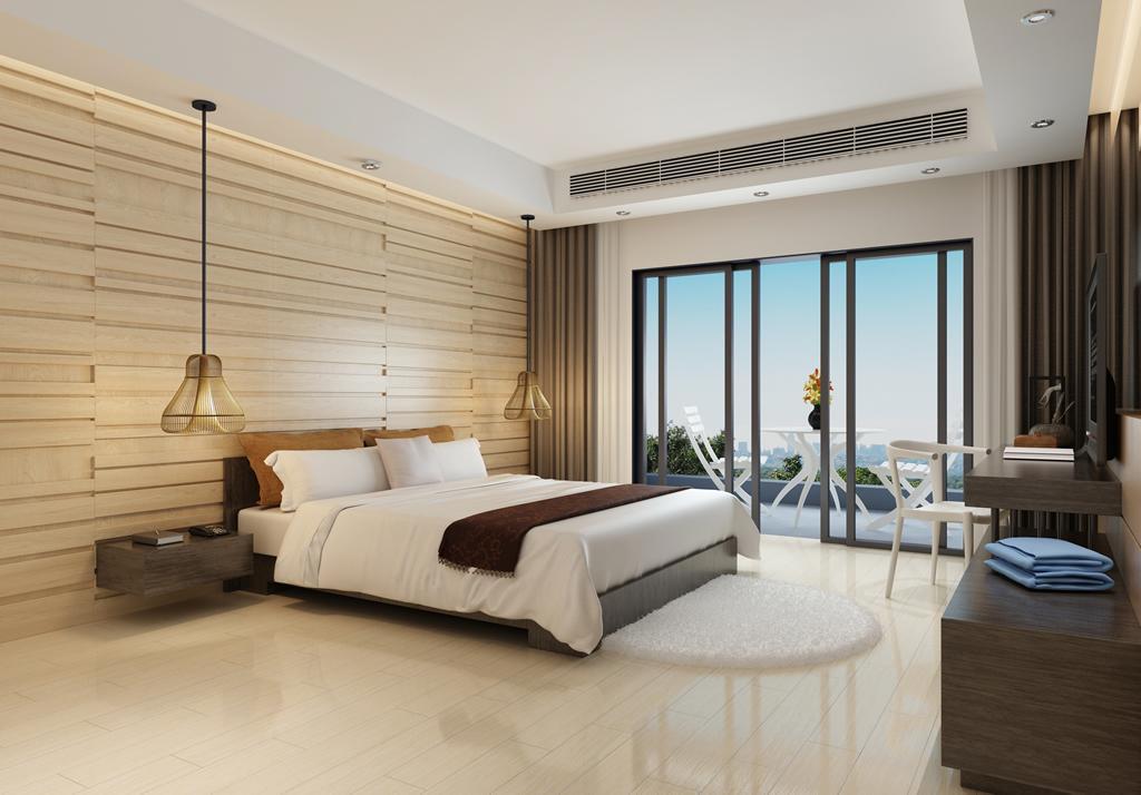 现代卧室装修效果图-欧神诺装修效果图图片