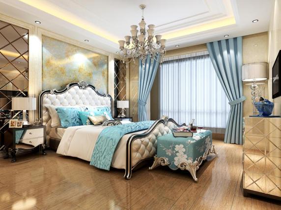 欧式卧室墙砖装修效果图