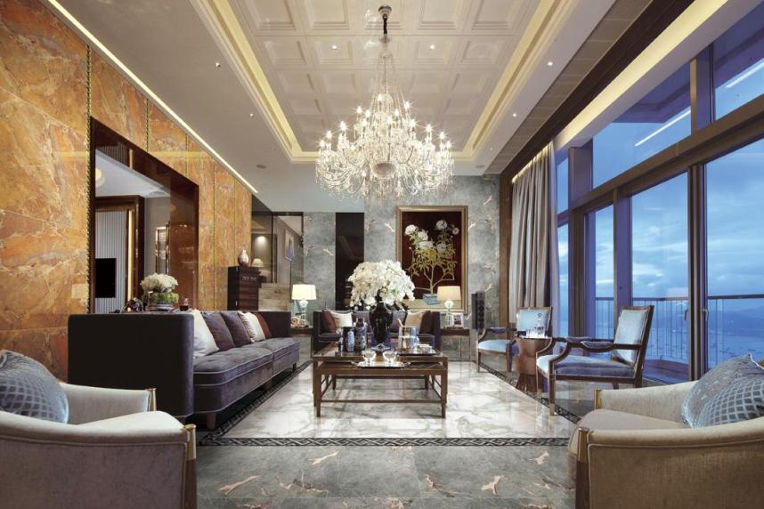 最新客厅瓷砖装修效果图片大全 欧神诺在线 客