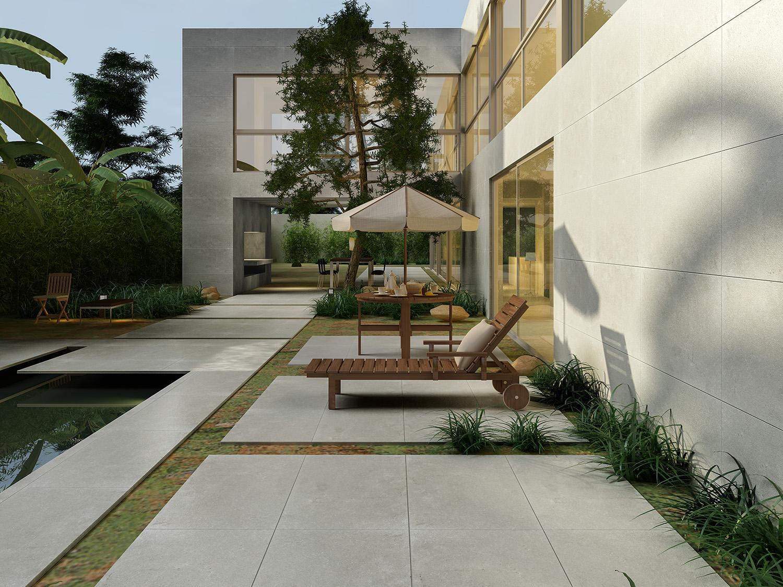 現代簡約戶外花園