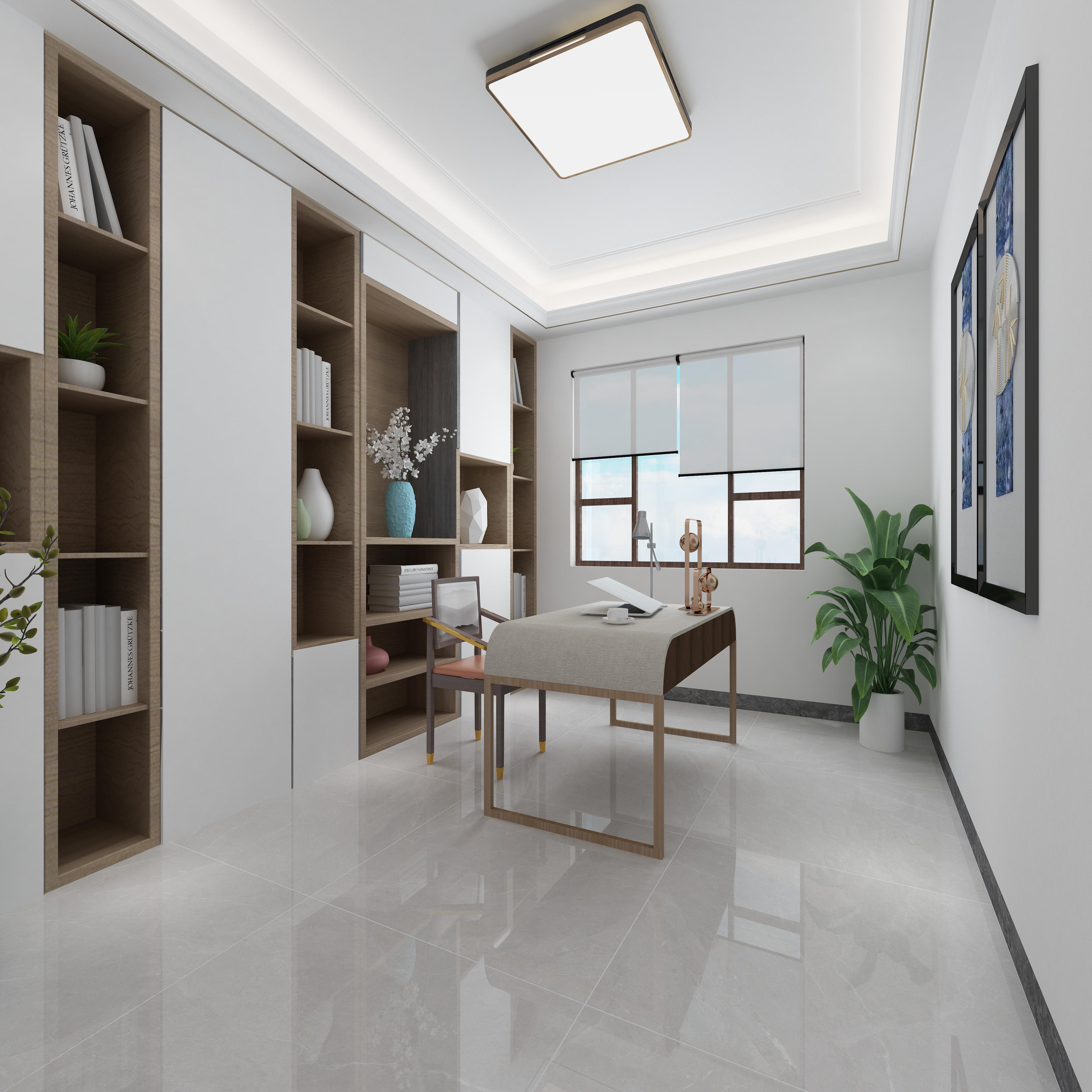 富力城-H戶型-新中式書房